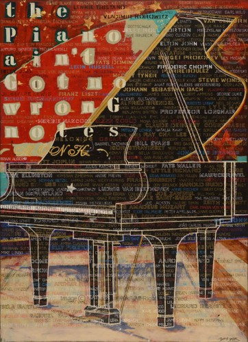 Piano Painting No Wrong Notes