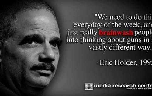 Holder-brainwash
