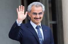 France President Francois Hollande Receives Prince Al Waleed bin Talal bin Abdulaziz Al Saoud AT Elysee Palace