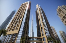 Emaar Act 1 and Act 2 Exterior (day)