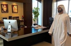 Sheikh Mohammed empty office