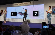 Unveiling of the Galaxy Note7
