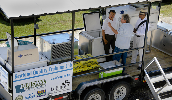 Mobile Seafood Quality Training Lab Developed to Address Refrigeration Issues
