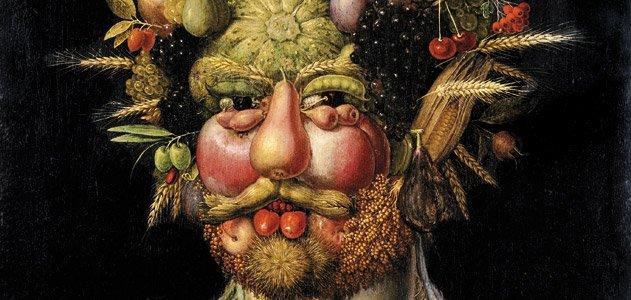 Foto: Arcimboldo, Smithsonian Institute. Vi er hva vi spiser.