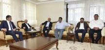 Başbakan Yardımcımız Fikri Işık'tan Yılmaz Ailesine Taziye Ziyareti