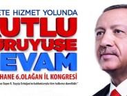 GÜMÜŞHANE CUMHURBAŞKANI ERDOĞAN'I BEKLİYOR