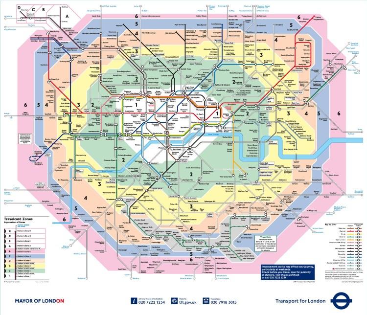 Londra Metro Haritası