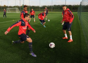 arsenal train