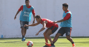 Alexis Sanchez in the Chilean camp