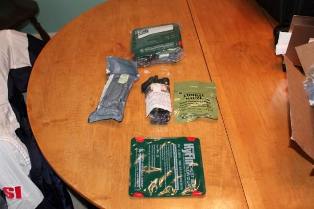 Basic Gunshot Wound Kit Guns Cars And Tech
