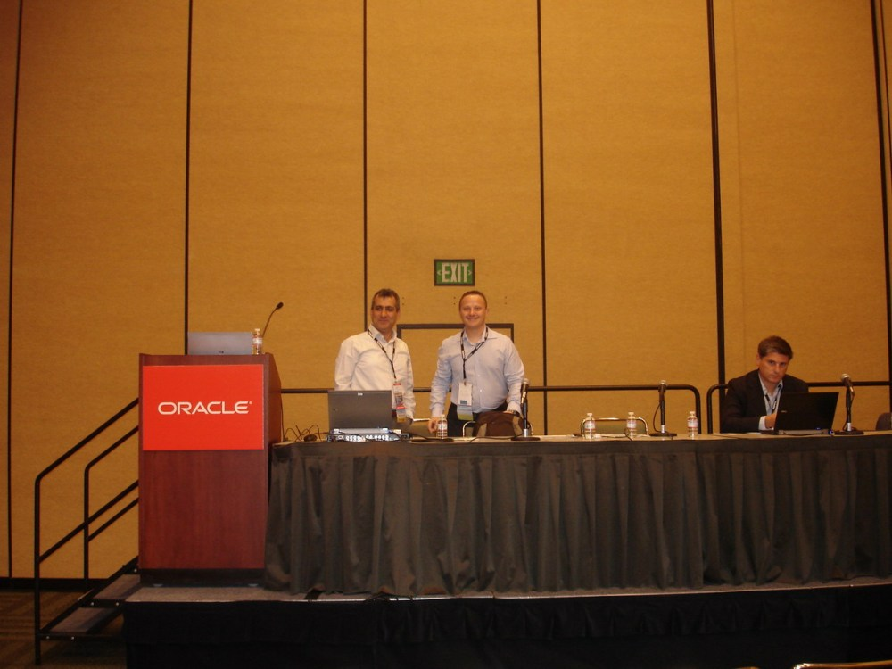 Oracle Open World 2010 Impressions (5/6)