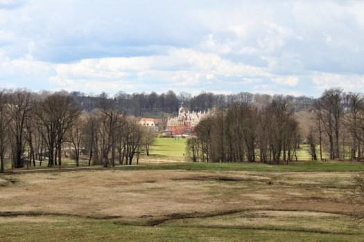 Blick vom Marienberg in den Unterpark auf Höhe des Neuen Schlosses. Foto: Franziska Gurk