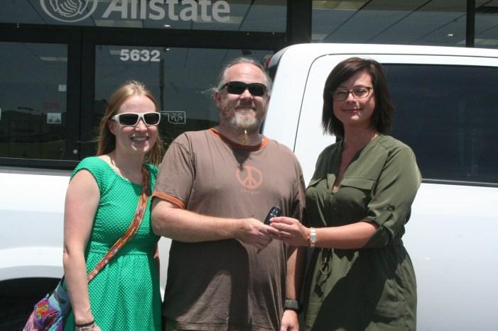 Guthrie Teacher Awarded Vehicle From John Vance Motors