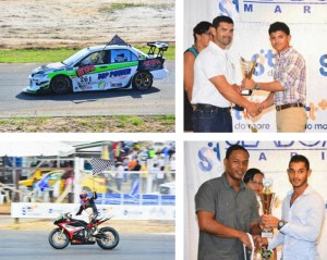 Images Right (Top to Bottom): Elliot Vieira and Kristian Jeffrey receiving their awards