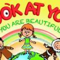Look a You, You're beautiful