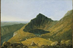 Richard Wilson on Cadair Idris