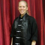 Gwen with Kung Fu Black Sash