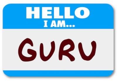 Guru name badge