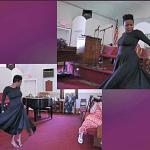 Sister Andria Banks and Interpretive Dance at Pentecost 2014