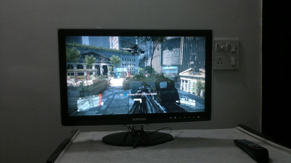 Playing Crysis 2