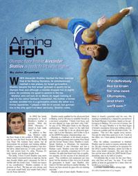 אלכס שטילוב ב-International Gymnast