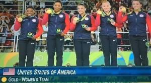 """סוף סוף באופן רשמי. ארה""""ב עם זהב שני ברציפות במשחקים האולימפיים"""