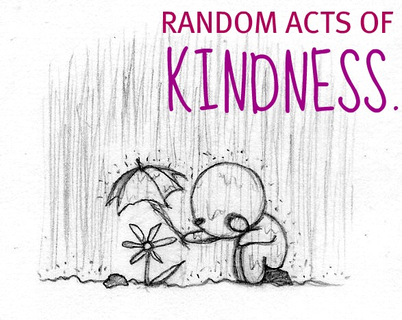 random acts of kindness speech outline