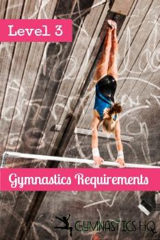 Level 3 Gymnastics Requirements