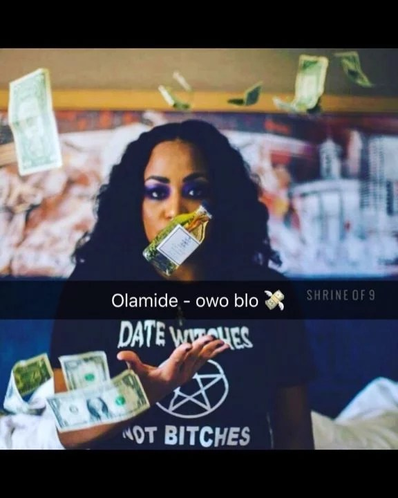 Olamide -- Owo Blow (Prod by Major Bangs) Cover Art