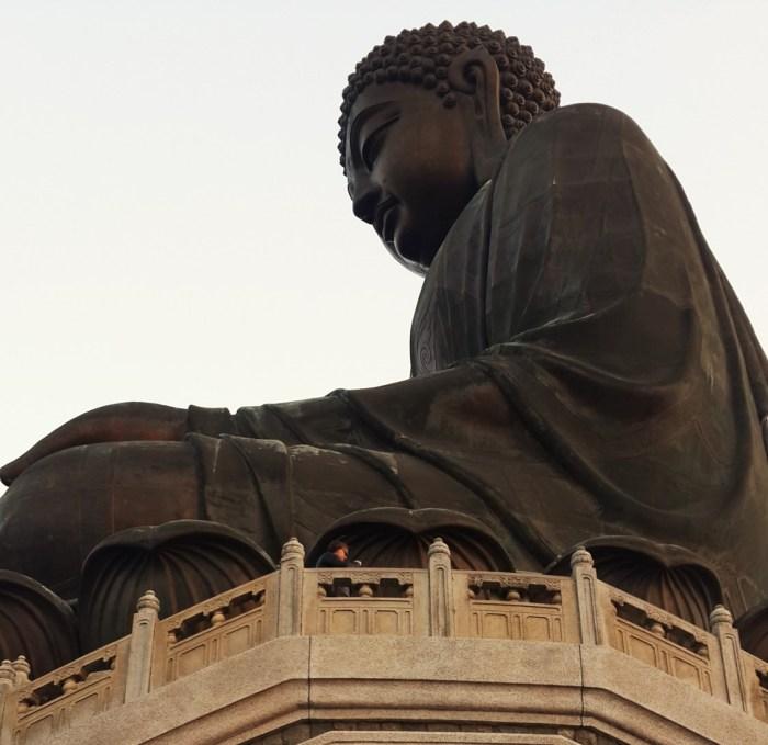 The Big Buddha, Lantau Island, Hong Kong