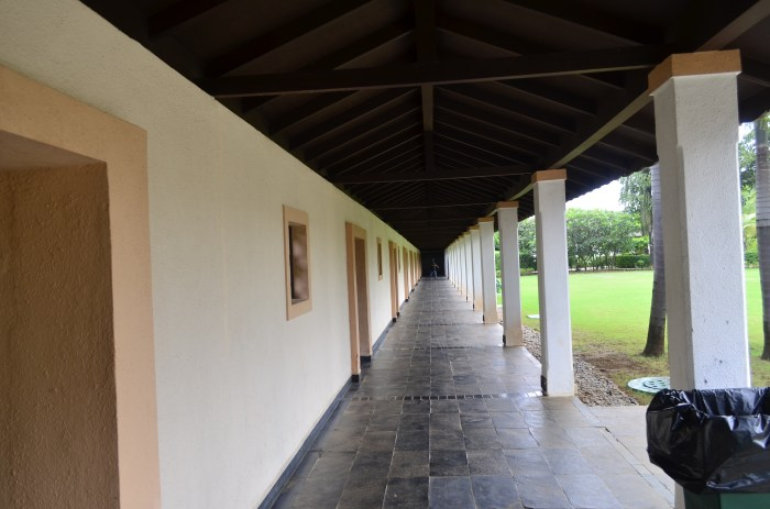 Walkway to Mandara spa