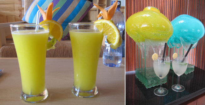 Welcome Drinks & Other Beverages at Maldives