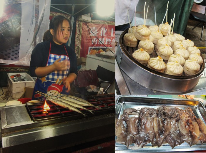 Sea food at Macau Fisherman's Warf