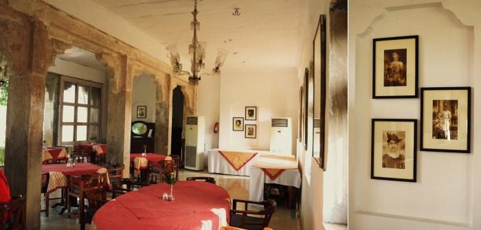 Restaurant at Deo-Bagh, Neemrana