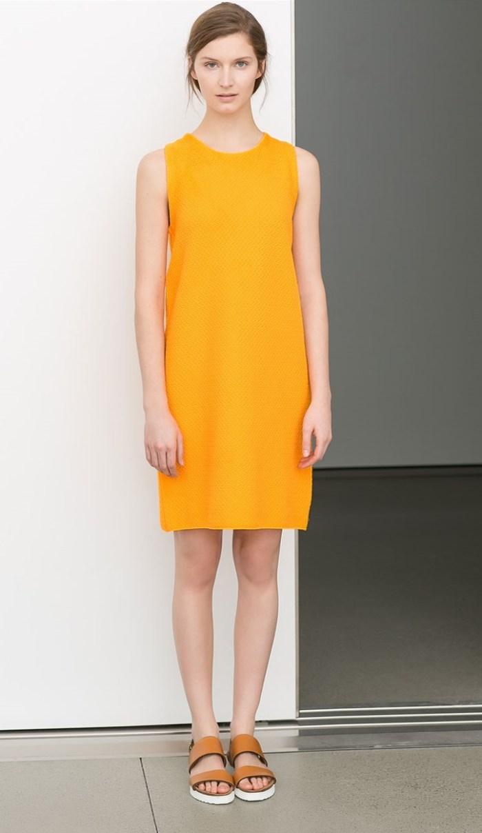 Zara Straight cut dress