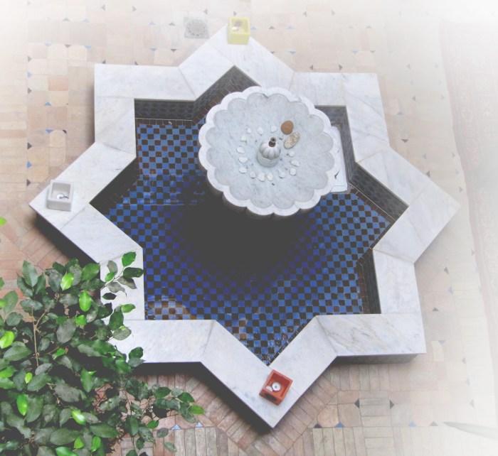 Moroccon Fountain @ Riad la Croix Berbere