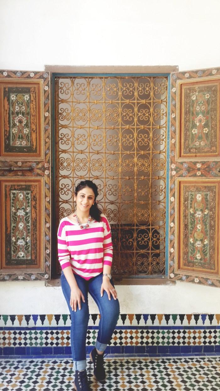 Rakshita Kapoor @ Bahia Palace, Marrakech, Morocco