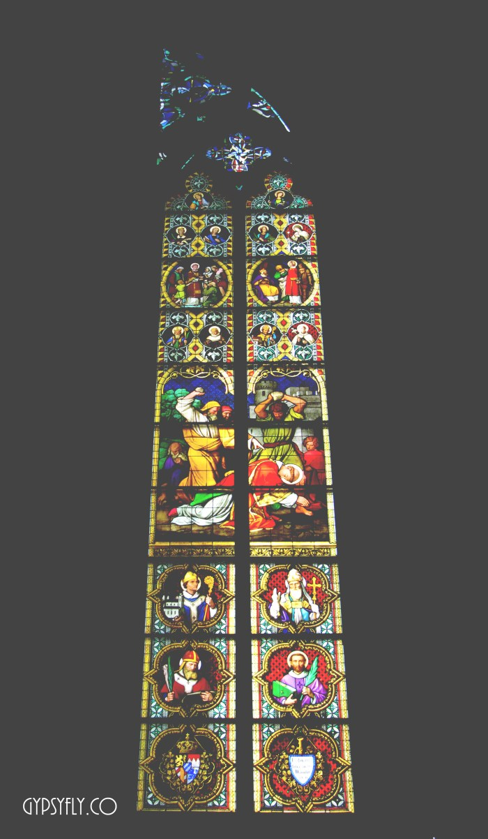 Stained Glass Clerestory Windows, Cologne Cathedral | Gothic Architecture | Picture by Rakshita Kapoor | Gypsyfly.co