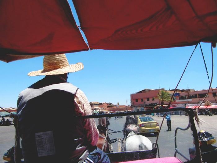 Horsecart Ride, Marrakech Medina