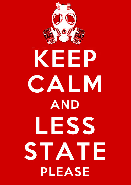 keep calm and less state, please