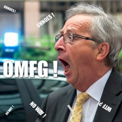 juncker omfg ohnoes no way