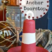 Vintage Anchor Doorstop