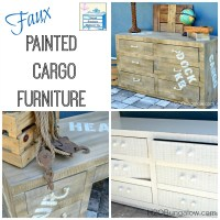 Faux Painted Cargo Furniture