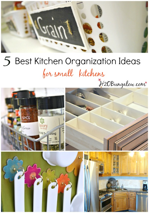 5 best kitchen organizing ideas for small spaces h20bungalow for Small kitchen organizing ideas