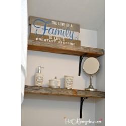 Alluring Mugs Wall Wood Shelf 4 Feet Tips Glasses Installing Thick Wood Shelfs Or Live Edge Wood Shelves On Tips Hanging Thick Wood Shelves Wall Wood Shelf