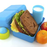 Menú de refrigerios escolares fáciles y saludables para todo el mes