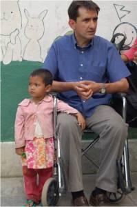 José Luis con Ninuta