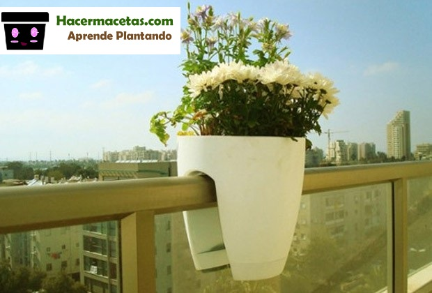 macetas para balcones con flores