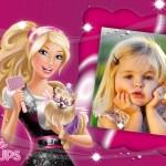 Marco infantil de Barbie