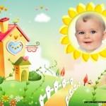 Marco para fotos de bebés